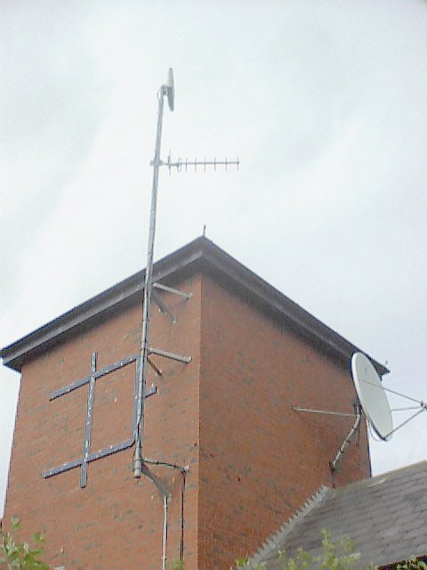 Dune FM Studio location showing link TX antenna